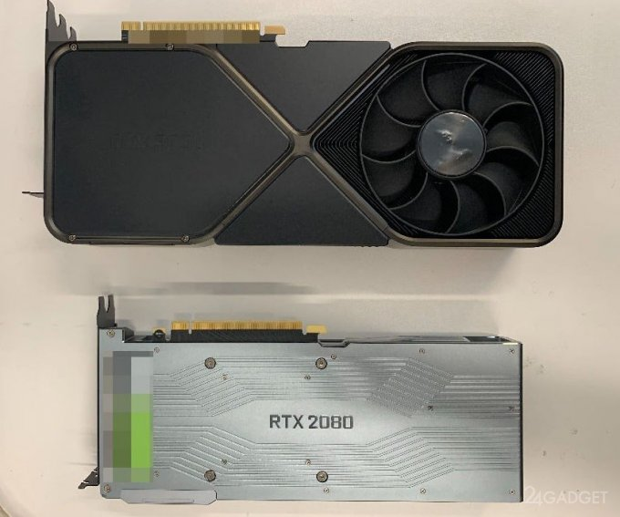 Обнародованы фотографии NVIDIA GeForce RTX 3090 (2 фото)