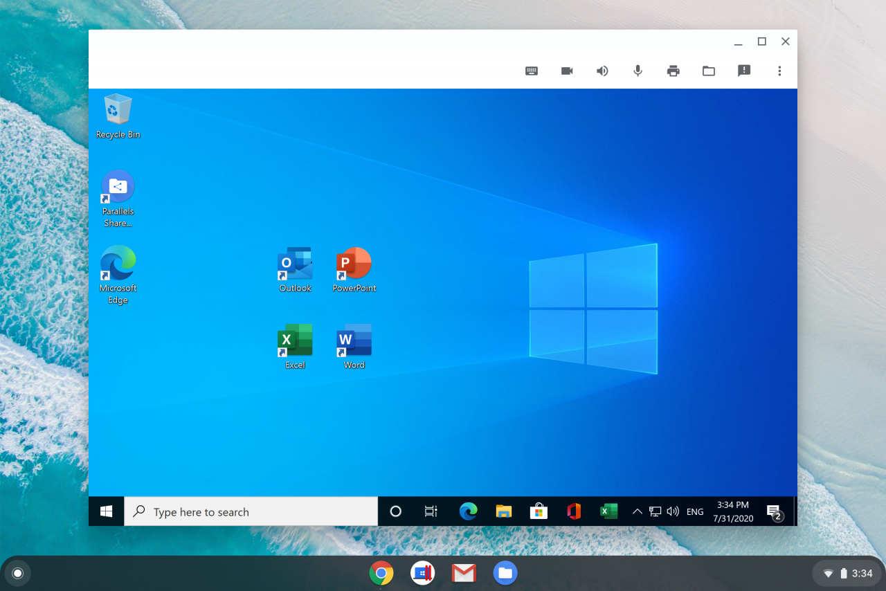 Windows-приложения теперь можно запускать на Chromebook с помощью Parallels Desktop