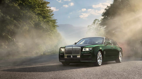 Новый Rolls-Royce Ghost получил удлиненную версию