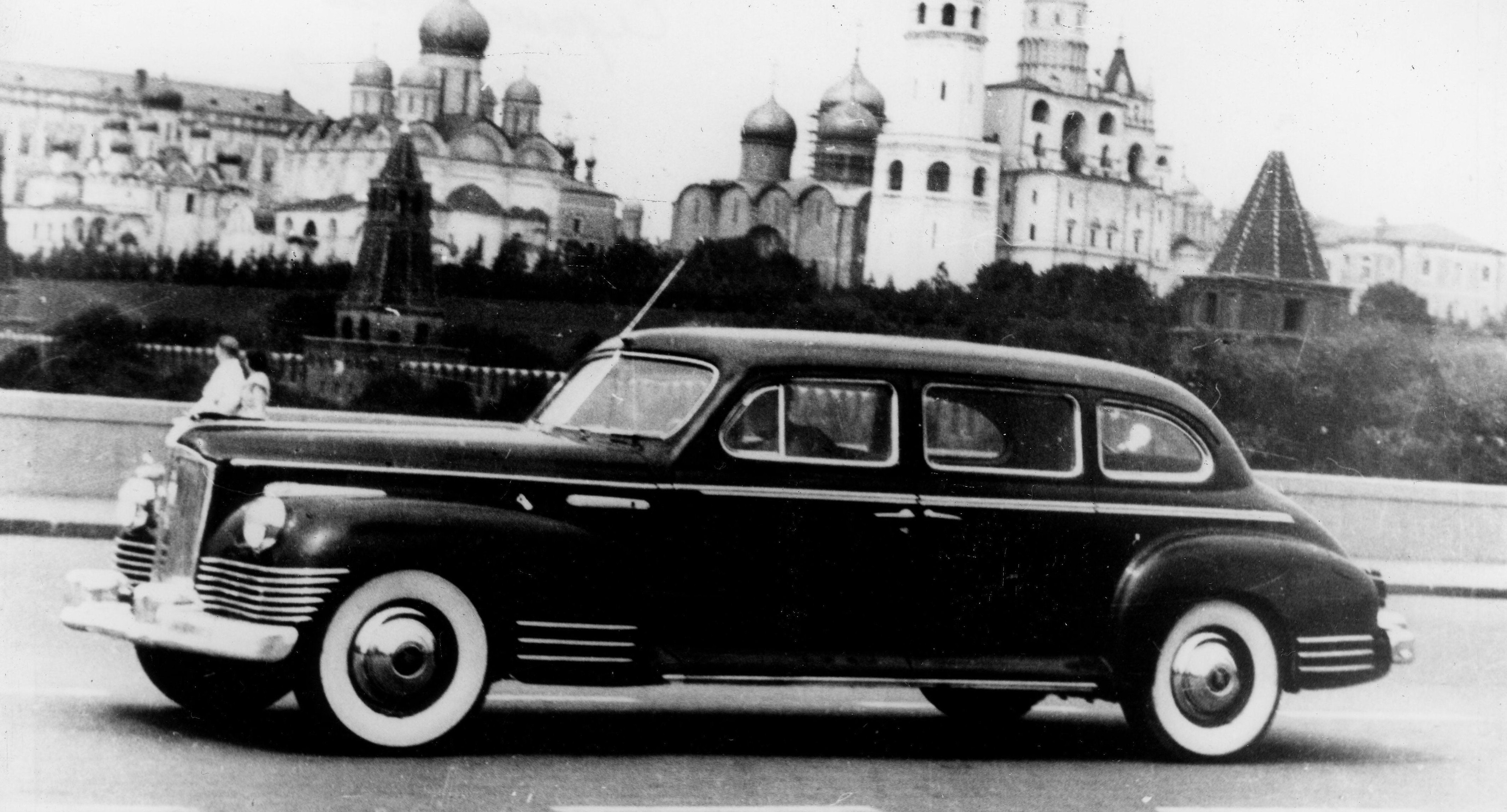 ЗИС-110 vs Packard 180: как в СССР содрали американский членовоз