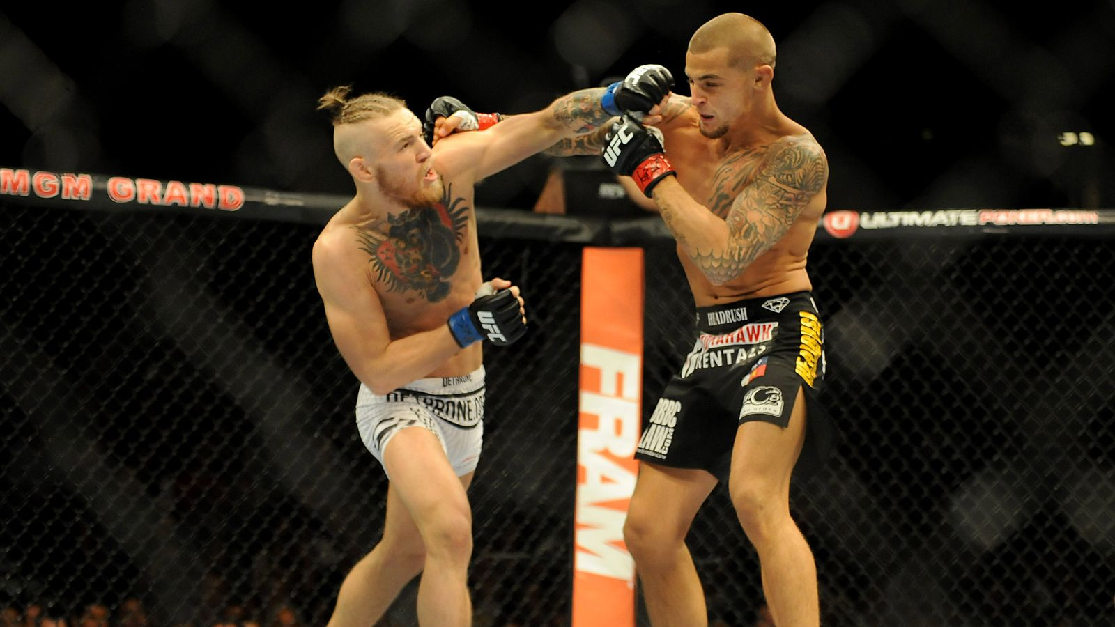 """Dan Hardy: """"I believe that in the third fight with Porye, we will see more grappling from McGregor"""""""